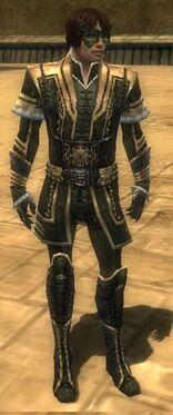 Mesmer Elite Sunspear Armor M gray front