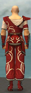 Monk Shing Jea Armor M dyed back