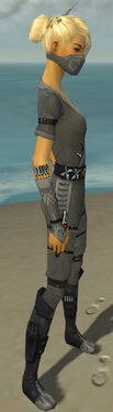 Assassin Shing Jea Armor F gray side