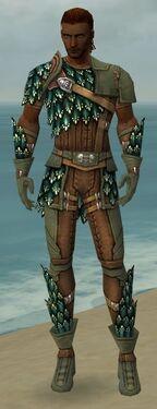 Ranger Drakescale Armor M gray front