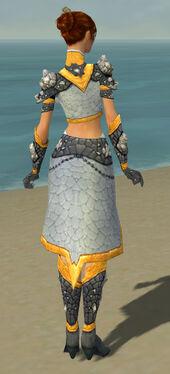 Elementalist Stoneforged Armor F dyed back