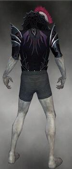 Gloomcrest Tunic M gray back