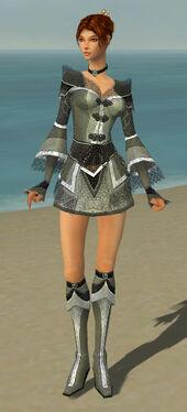 Elementalist Kurzick Armor F gray front