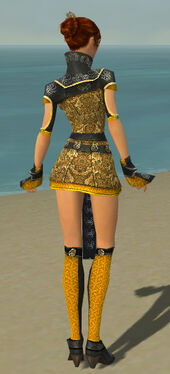 Elementalist Canthan Armor F dyed back