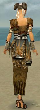 Monk Sunspear Armor F gray back