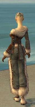 Monk Norn Armor F gray back