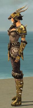 Warrior Elite Charr Hide Armor F dyed side