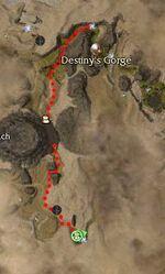 Arliss Vaughn Map