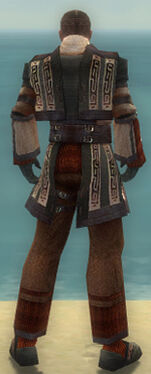 Monk Ancient Armor M gray back