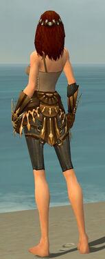 Ranger Elite Sunspear Armor F gray arms legs back