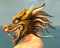 Dragon Mask gray side