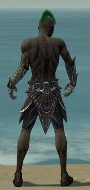 Necromancer Elite Necrotic Armor M gray arms legs back