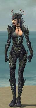 Necromancer Krytan Armor F gray front