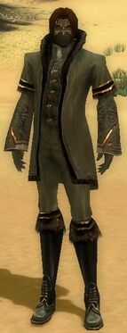 Mesmer Norn Armor M gray front