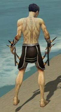 Necromancer Ancient Armor M gray arms legs back