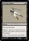 Giga's Hari Kari Ritual Magic Card