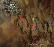 Korrlivingflame map location