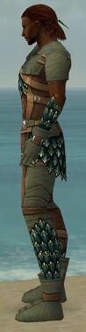 Ranger Drakescale Armor M gray side