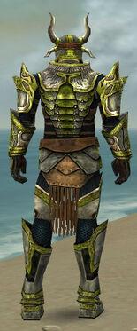 Warrior Elite Sunspear Armor M dyed back