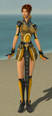 Elementalist Canthan Armor F dyed front
