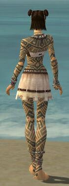 Monk Labyrinthine Armor F gray back