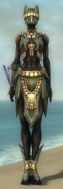 Ritualist Elite Kurzick Armor F gray front