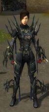 Zenmai Mysterious Armor F gray front