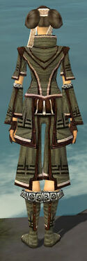 Monk Kurzick Armor F gray back