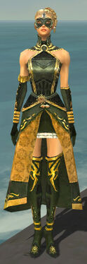 Mesmer Sunspear Armor F gray front