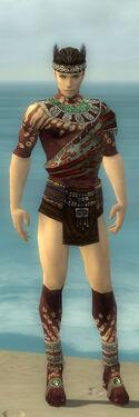 Ritualist Elite Exotic Armor M gray chest feet front