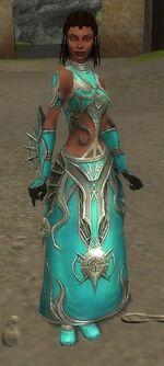 Melonni Armor Primeval Front
