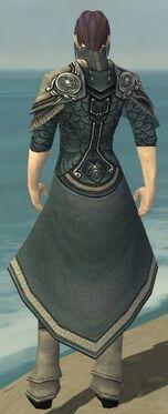 Elementalist Asuran Armor M gray chest feet back