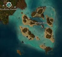Mehtani Keys map