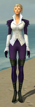 Mesmer Ascalon Armor F dyed front