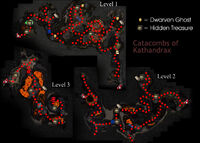 Catacombs Of Kathandrax Map