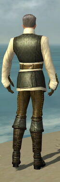 Mesmer Monument Armor M gray back