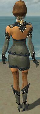 Mesmer Obsidian Armor F gray back