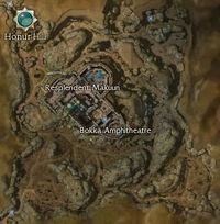 Resplendent Makuun map
