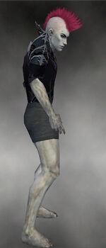 Gloomcrest Tunic M gray side