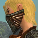Ranger Istani Armor F gray head side