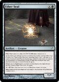 Giga's Ether Seal Magic Card