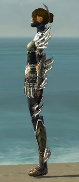 Assassin Asuran Armor F gray side
