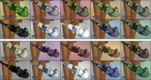 Bone Staff colored