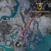Marhan's Grotto Location