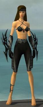 Assassin Vabbian Armor F gray arms legs front