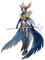 Avatar of Dwayna concept art