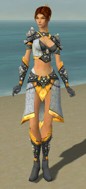 Elementalist Stoneforged Armor F dyed front