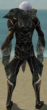 Necromancer Vabbian Armor M gray back