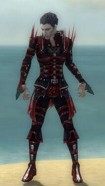 Necromancer Elite Cabal Armor M dyed front