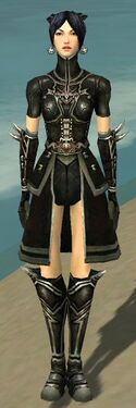 Necromancer Shing Jea Armor F gray front